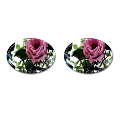 Rose Cufflinks (oval) by Rbrendes