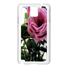 Rose Samsung Galaxy Note 3 N9005 Case (white) by Rbrendes