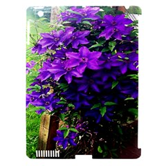 Purple Flowers Apple Ipad 3/4 Hardshell Case (compatible With Smart Cover) by Rbrendes