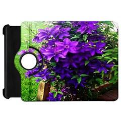 Purple Flowers Kindle Fire Hd 7  (1st Gen) Flip 360 Case by Rbrendes