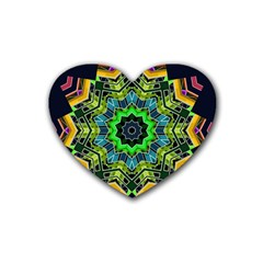 Big Burst Drink Coasters 4 Pack (heart)  by Rbrendes