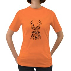 Deer Women s T Shirt (colored)