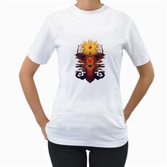 EYEDEER Women s T-Shirt (White)  by Contest1920010
