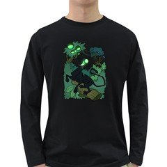 Acid Panther With Berries Men s Long Sleeve T Shirt (dark Colored) by Contest1920010