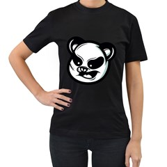 Badass Panda Women s T Shirt (black) by Contest1915162