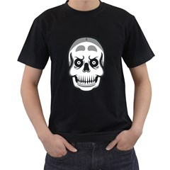 Skull Smile Men s T Shirt (black) by Contest1915162