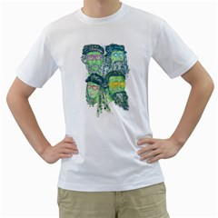 Fungky Teenage Mutant  Ninja Turtle Men s T Shirt (white)  by Contest1736674