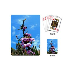 Pink Flower Playing Cards (mini) by Rbrendes