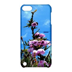 Pink Flower Apple Ipod Touch 5 Hardshell Case With Stand by Rbrendes