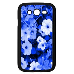 Blue Flowers Samsung Galaxy Grand DUOS I9082 Case (Black)