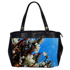 Australia Flowers Oversize Office Handbag (One Side) by Rbrendes