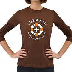 Lifeguard Amity Island Women s Long Sleeve T Shirt (dark Colored) by chivieridesigns
