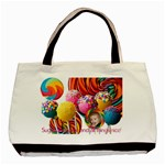 Candy Lollies Bag - Sugar and Spice and All Things Nice - Basic Tote Bag