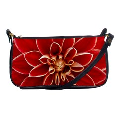 Red Dahila Evening Bag by Colorfulart23