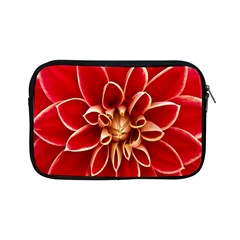Red Dahila Apple Ipad Mini Zippered Sleeve by Colorfulart23