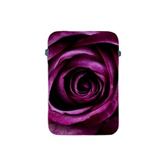 Deep Purple Rose Apple Ipad Mini Protective Sleeve by Colorfulart23