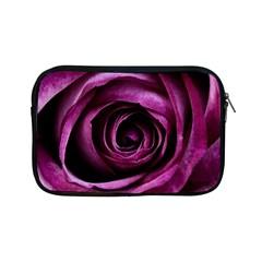 Deep Purple Rose Apple Ipad Mini Zippered Sleeve by Colorfulart23