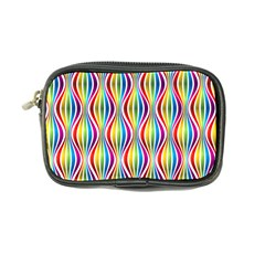 Rainbow Waves Coin Purse by Colorfulplayground