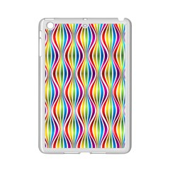Rainbow Waves Apple Ipad Mini 2 Case (white) by Colorfulplayground