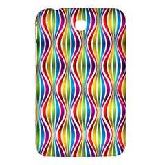 Rainbow Waves Samsung Galaxy Tab 3 (7 ) P3200 Hardshell Case  by Colorfulplayground
