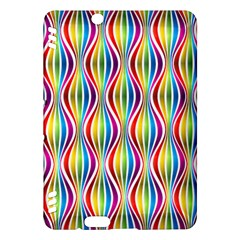 Rainbow Waves Kindle Fire Hdx 7  Hardshell Case by Colorfulplayground