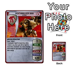 Heroscape Set 1 By Brian   Multi Purpose Cards (rectangle)   Sj4arriwm7uj   Www Artscow Com Front 54