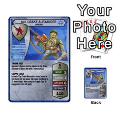 Heroscape Set 1 By Brian   Multi Purpose Cards (rectangle)   Sj4arriwm7uj   Www Artscow Com Front 10