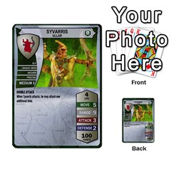 Heroscape Set 1 By Brian   Multi Purpose Cards (rectangle)   Sj4arriwm7uj   Www Artscow Com Front 11