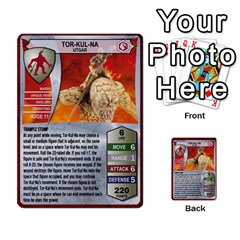 Heroscape Set 1 By Brian   Multi Purpose Cards (rectangle)   Sj4arriwm7uj   Www Artscow Com Front 21