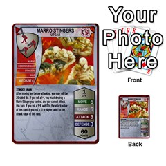 Heroscape Set 1 By Brian   Multi Purpose Cards (rectangle)   Sj4arriwm7uj   Www Artscow Com Front 27
