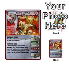 Heroscape Set 1 By Brian   Multi Purpose Cards (rectangle)   Sj4arriwm7uj   Www Artscow Com Front 28