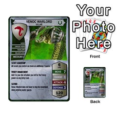 Heroscape Set 1 By Brian   Multi Purpose Cards (rectangle)   Sj4arriwm7uj   Www Artscow Com Front 31