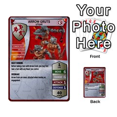 Heroscape Set 1 By Brian   Multi Purpose Cards (rectangle)   Sj4arriwm7uj   Www Artscow Com Front 40