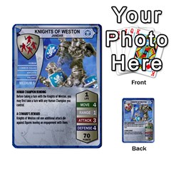 Heroscape Set 1 By Brian   Multi Purpose Cards (rectangle)   Sj4arriwm7uj   Www Artscow Com Front 42
