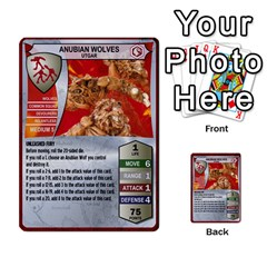 Heroscape Set 1 By Brian   Multi Purpose Cards (rectangle)   Sj4arriwm7uj   Www Artscow Com Front 44