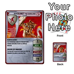 Heroscape Set 1 By Brian   Multi Purpose Cards (rectangle)   Sj4arriwm7uj   Www Artscow Com Front 45