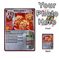Heroscape Set 1 By Brian   Multi Purpose Cards (rectangle)   Sj4arriwm7uj   Www Artscow Com Front 47