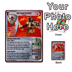 Heroscape Set 4 By Brian   Multi Purpose Cards (rectangle)   Ktq9hlzvoi3u   Www Artscow Com Front 1