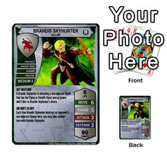 Heroscape Set 4 By Brian   Multi Purpose Cards (rectangle)   Ktq9hlzvoi3u   Www Artscow Com Front 28