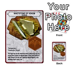 Heroscape Set 4 By Brian   Multi Purpose Cards (rectangle)   Ktq9hlzvoi3u   Www Artscow Com Front 49