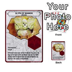 Heroscape Set 4 By Brian   Multi Purpose Cards (rectangle)   Ktq9hlzvoi3u   Www Artscow Com Back 49