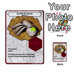Heroscape Set 4 By Brian   Multi Purpose Cards (rectangle)   Ktq9hlzvoi3u   Www Artscow Com Front 50