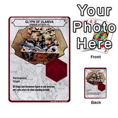 Heroscape Set 4 By Brian   Multi Purpose Cards (rectangle)   Ktq9hlzvoi3u   Www Artscow Com Back 50