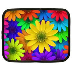 Gerbera Daisies Netbook Sleeve (large) by StuffOrSomething