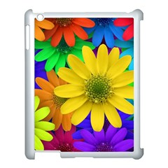 Gerbera Daisies Apple Ipad 3/4 Case (white) by StuffOrSomething