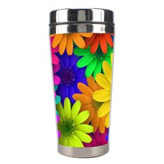 Gerbera Daisies Stainless Steel Travel Tumbler by StuffOrSomething