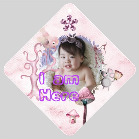 Baby In Car 2 By Hazelyip Yahoo Com Hk   Car Window Sign   5yk6rt72lays   Www Artscow Com Front