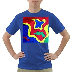 Abstract Men s T Shirt (colored) by Siebenhuehner