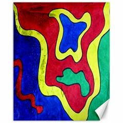 Abstract Canvas 11  X 14  (unframed) by Siebenhuehner