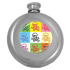 Skull Hip Flask (round) by Siebenhuehner
